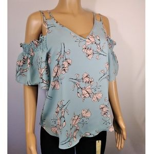 Sienna Sky Cold Shoulers Summer top